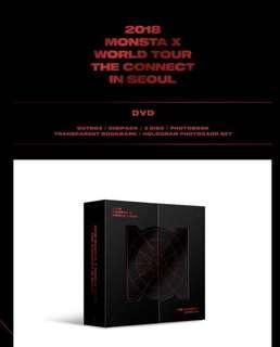 [PO] MONSTA X - The Connect World Tour DVD
