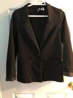 H&M Divided Black Blazer