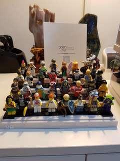 Lego minifigures series 3 & 4