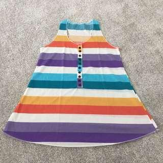 Long strip top