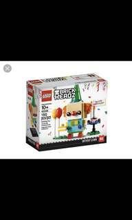 In Stock* Lego Brickheadz Birthday Clown 40348