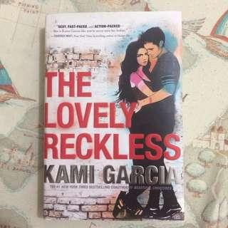 The lovely reckless book by Kami Garcia