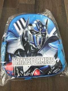 Transformer kids backpack