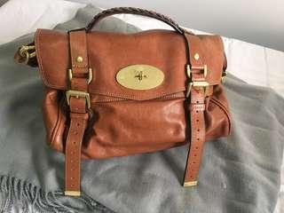 Authentic mulberry Alexa medium with receipt and dust bag