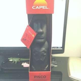 🚚 智利加貝珍藏摩艾皮斯可 PISCO CAPEL Moai