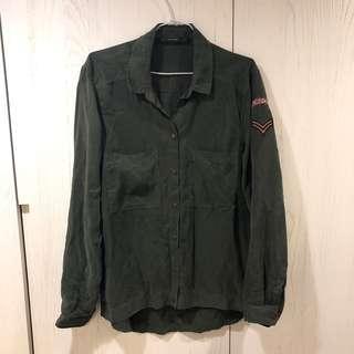 🚚 Zara 軍裝襯衫