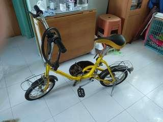 可摺單車 foldable bicycle