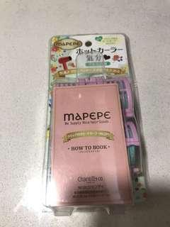 日本mapepe 瀏海 捲髮器