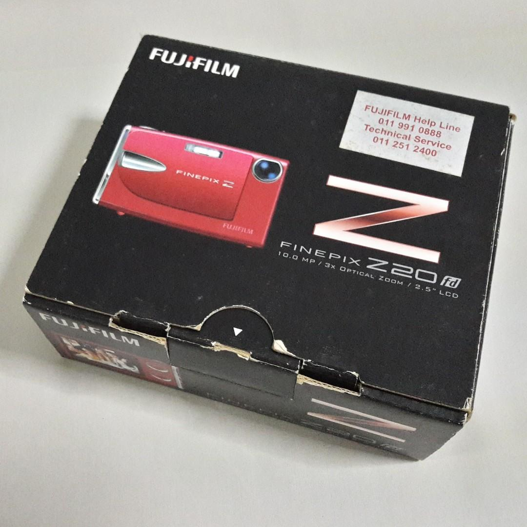 🆒 Fujifilm FinePix Z20fd Digital Camera