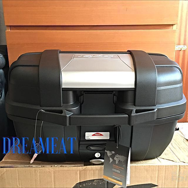 b0b6f49337 Kappa KGR52 GARDA 52L TOP CASE(FREE BASEPLATE & INSTALLATION ...