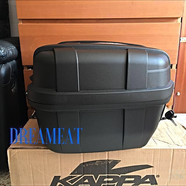 368f5cf966 Kappa KGR52 GARDA 52L TOP CASE(FREE BASEPLATE & INSTALLATION & MOBILE PHONE  BLUETOOTH HEADSET), Motorbikes, Motorbike Accessories on Carousell