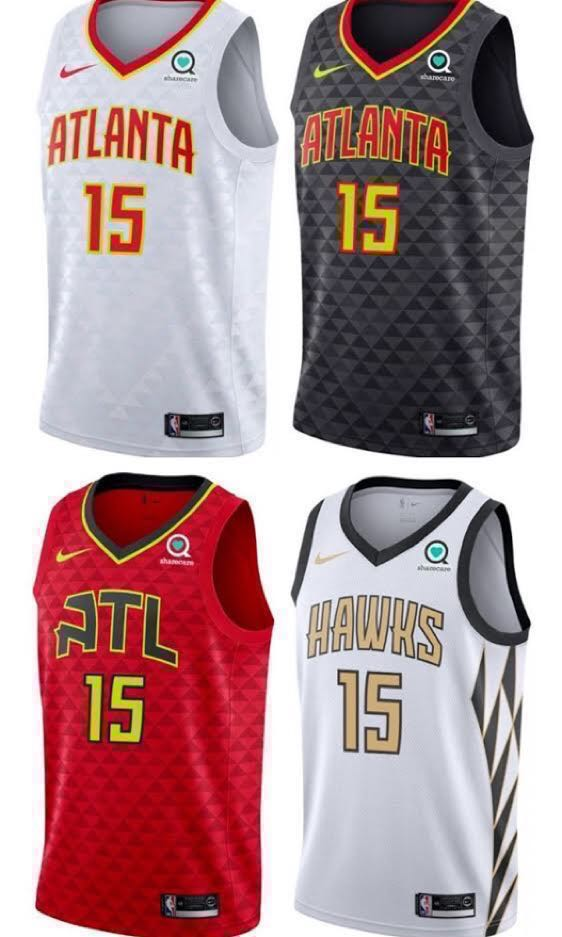 the best attitude ace37 a321d [代訂] 有廣告章卡達VC Vince Carter Atlanta Hawks Association Icon Statement City  Classic Edition Nike Swingman Jersey with Sponsor Patch