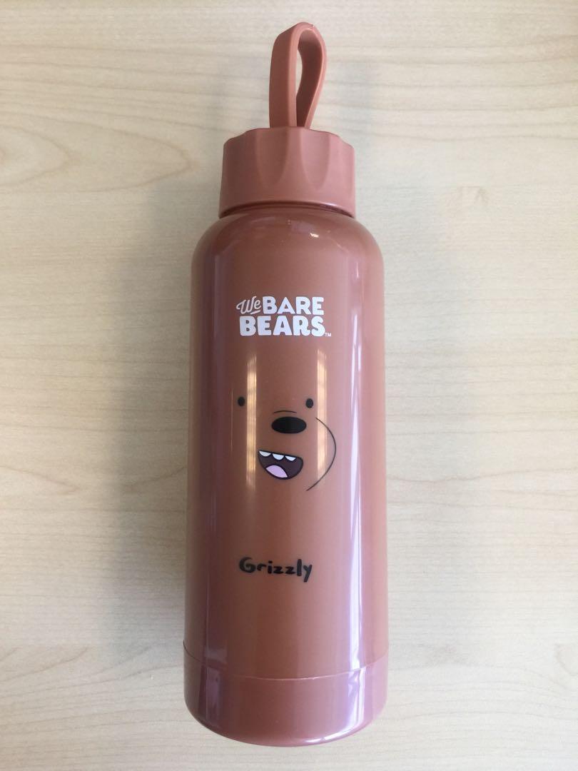 A30. We Bare Bear water bottle