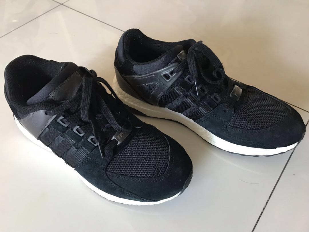 cheap for discount 08617 98310 Adidas EQT Ultraboost Black UK7.5 $115