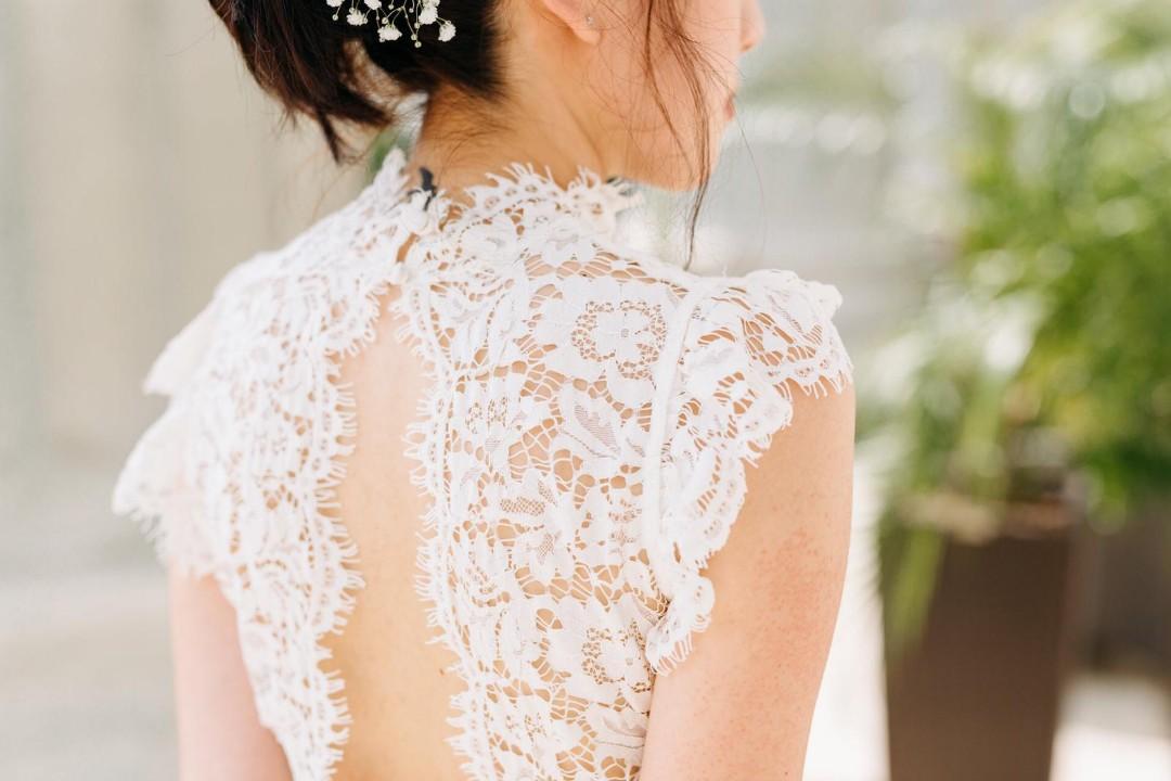 Aijek Into the Night Lace Maxi Dress Wedding / Bridal size 1