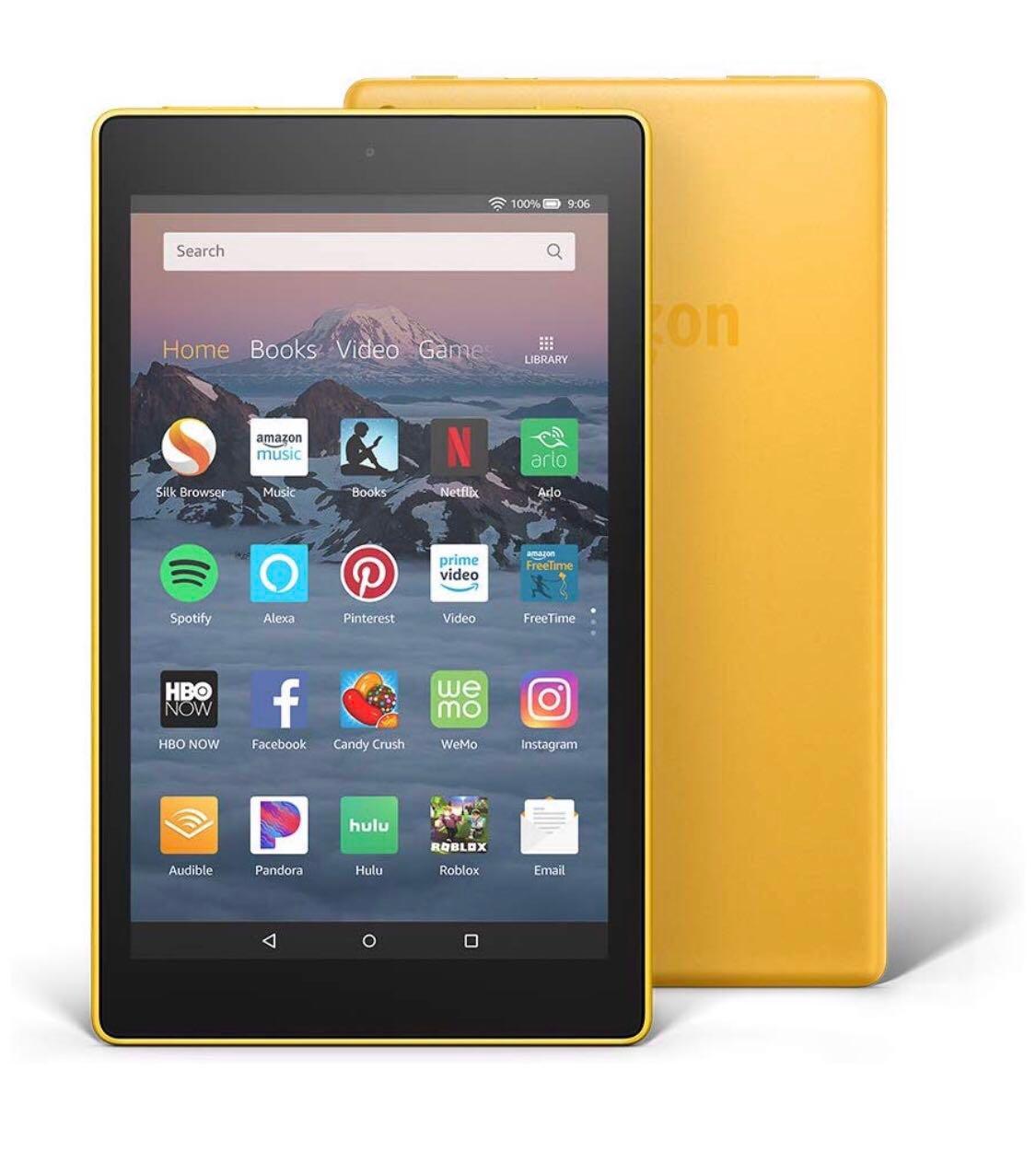 10f421cdb558 Amazon Fire HD 8 Tablet 2018 16GB version