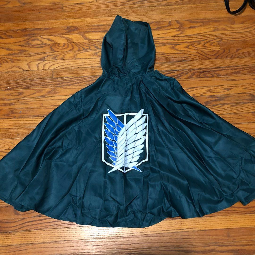 Attack on Titan Poncho Size M