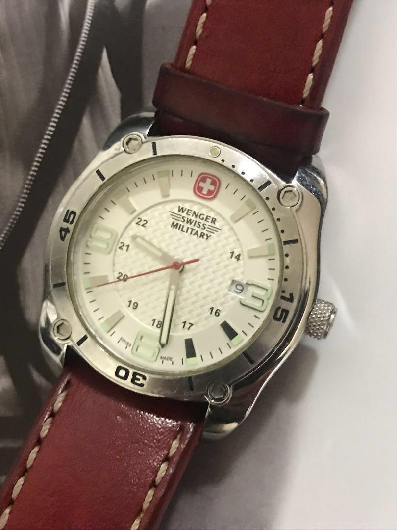 Authentic Swiss Made Wenger Military Watch Price is Firm