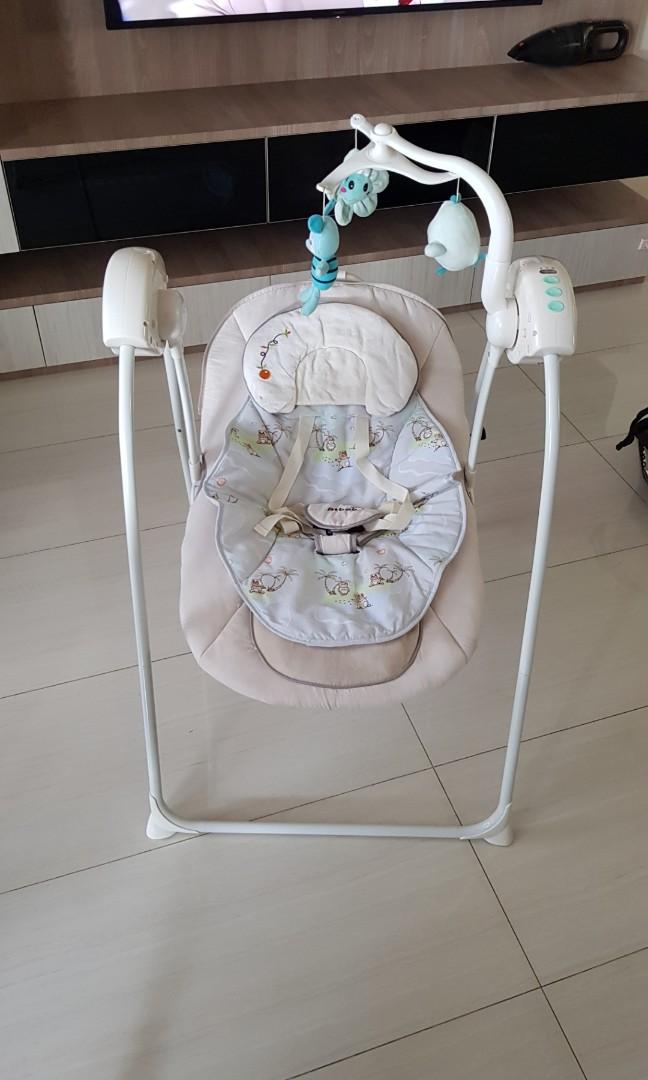 Electric Baby Rocking Chair Music Baby Swing Rocker Electric