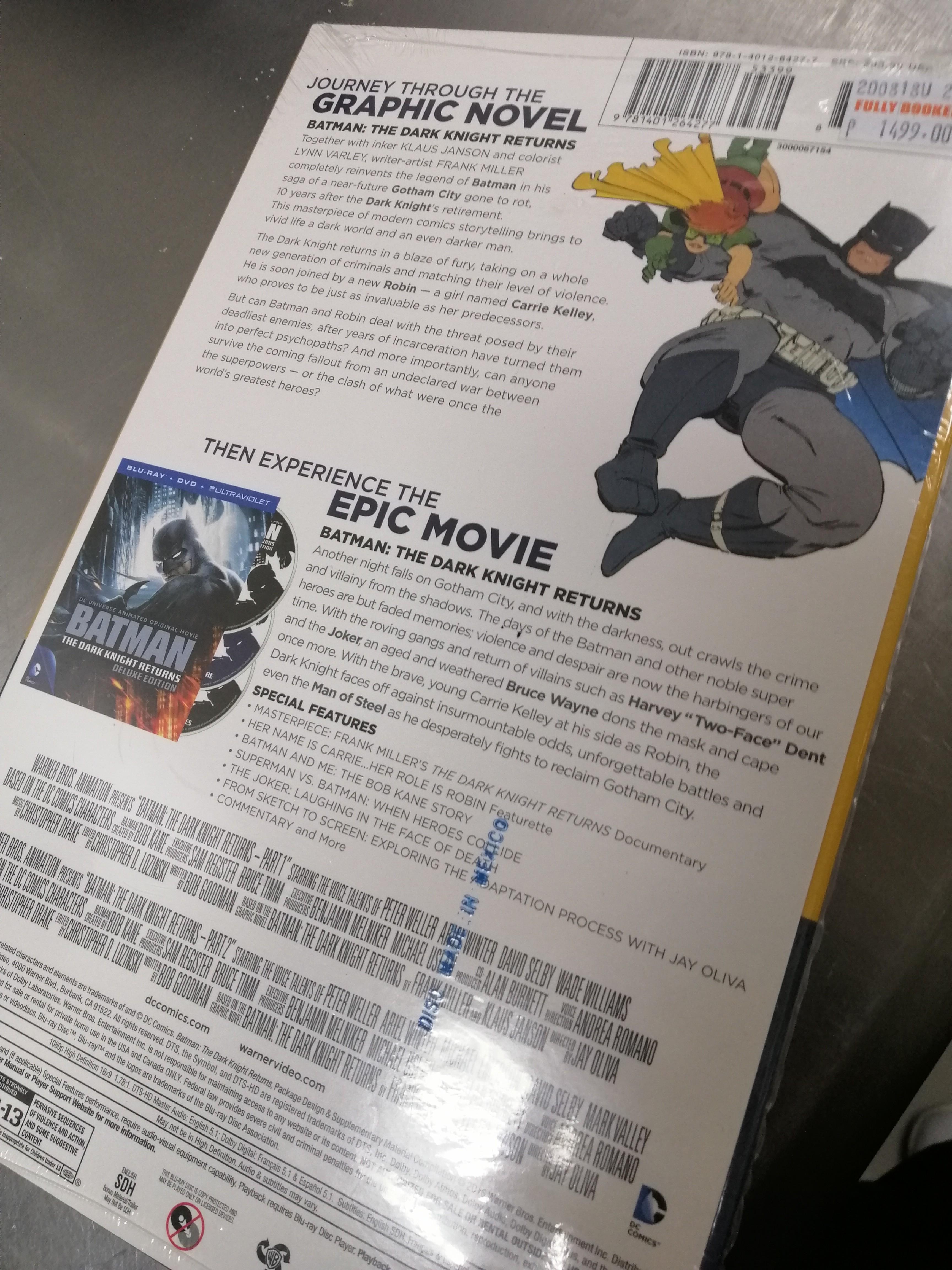 Batman The Dark Knight Returns by Miller Janson Varley