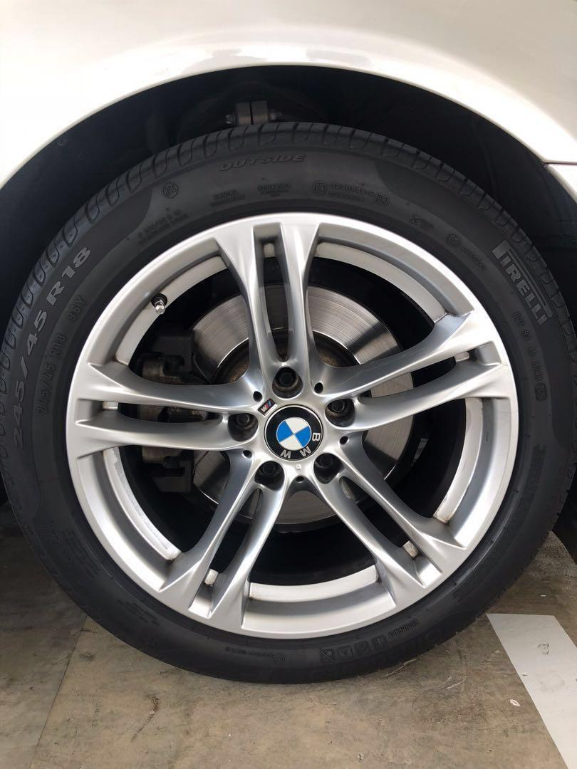 """BMW M Sport 18"""" currently fitted on bmw 5 series F10, Car"""