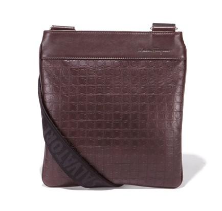 b1487eb8d75c BN  Salvatore Ferragamo Calfskin Leather Sling Bag
