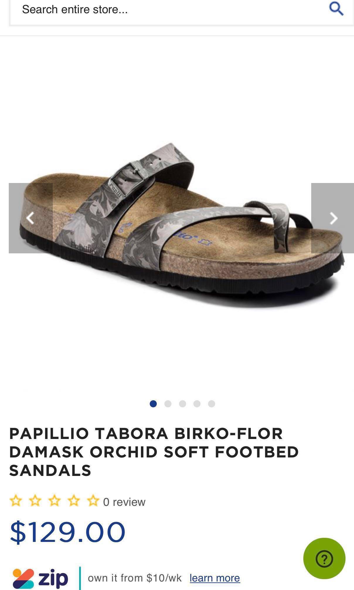 06e266cd69c0 BNIB Size 38 Papillio (by Birkenstock) Tabora Orchid Birkoflor ...