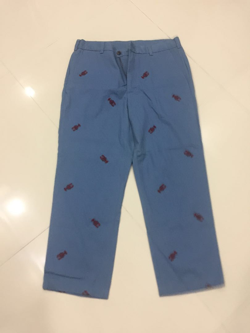 official shop best online finest selection Brooks Brothers 346 Embroidered Red Lobster Pants