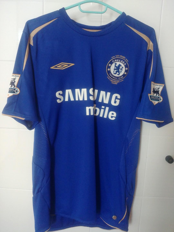 the best attitude 6232d 81457 Chelsea FC Memorable BPL Champion CENTENARY Jersey, Sports ...