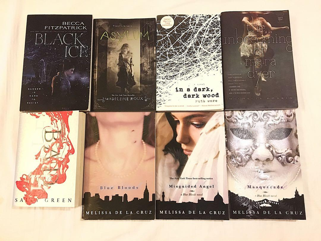 CHOICE OF 5 BOOKS FOR P1000!! YOUNG ADULT BOOK BUNDLES!!