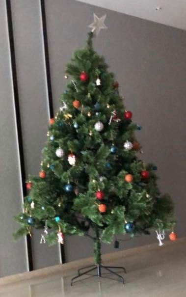 Christmas Tree 7 5 Feet Cashmere Pine Original Price 229