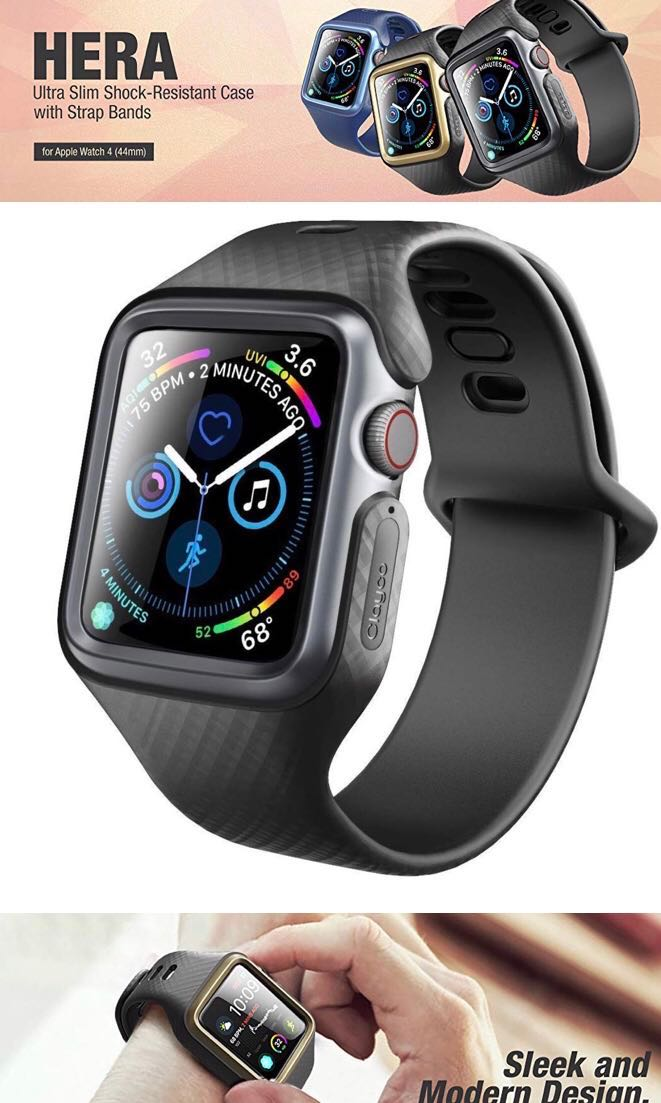 quality design c1c25 6aa00 Clayco Hera Case with Strap for Apple watch 4 44mm