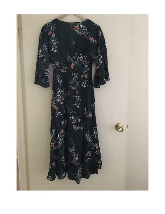 Cotton On Floral Wrap Dress