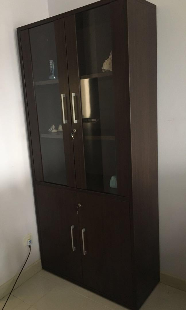 Display Cabinet With Lock Furniture