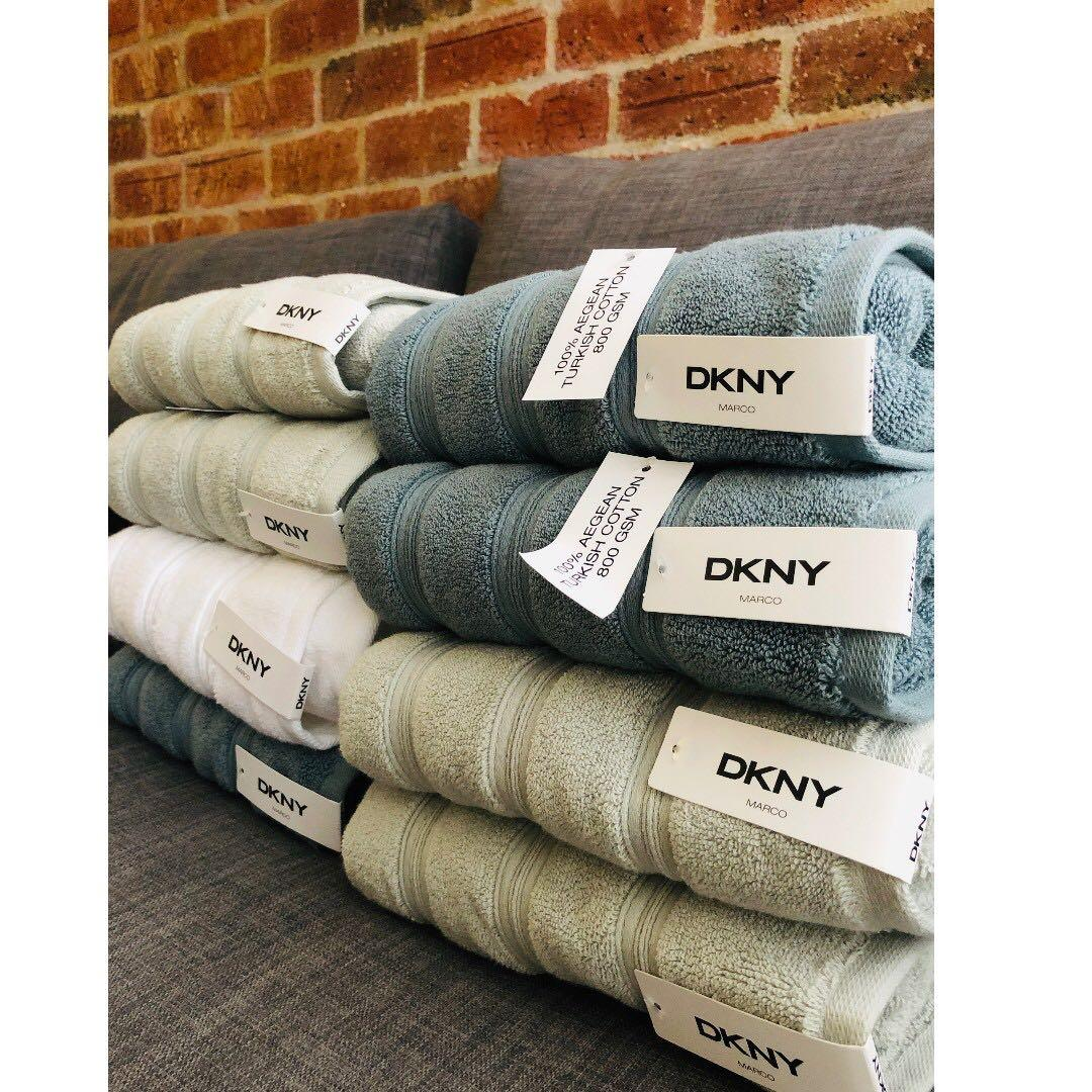 Dkny Towels 800gsm Thick Health Beauty Skin Bath Body On Carousell