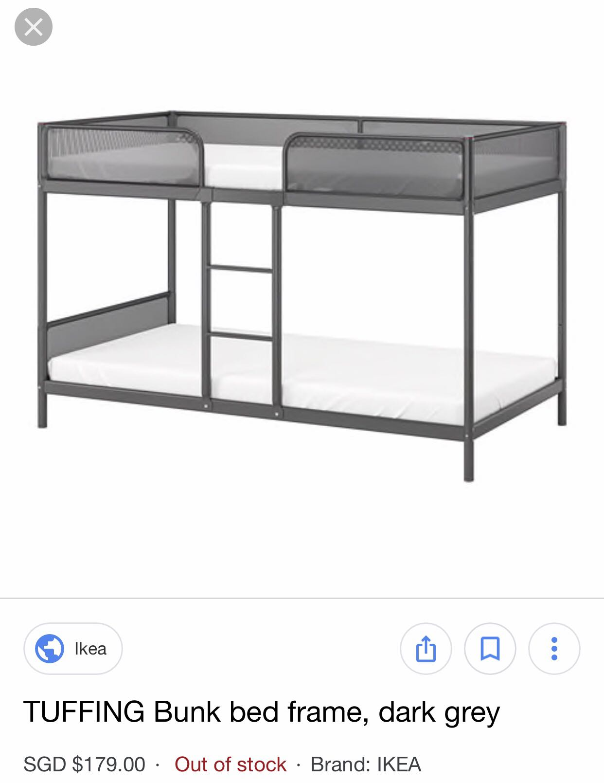 Double Decker Bed Frame