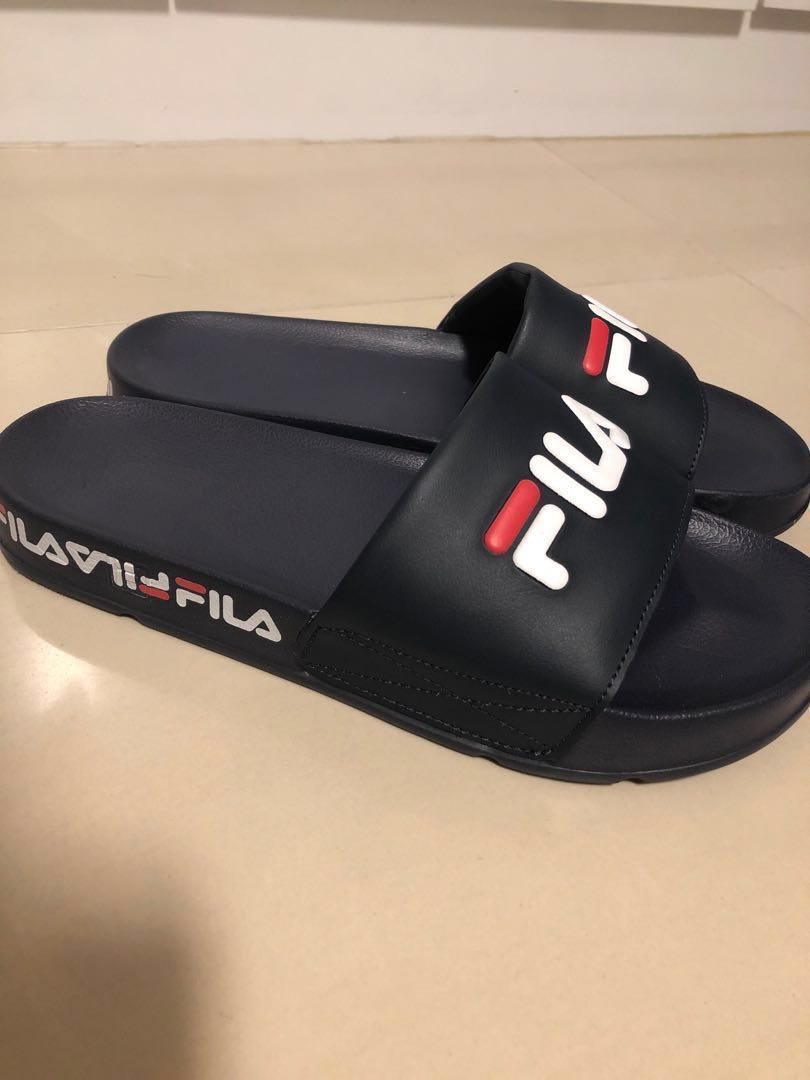 02156fef6105 Fila slides navy men fashion footwear slippers sandals jpg 810x1080 Fila  slides