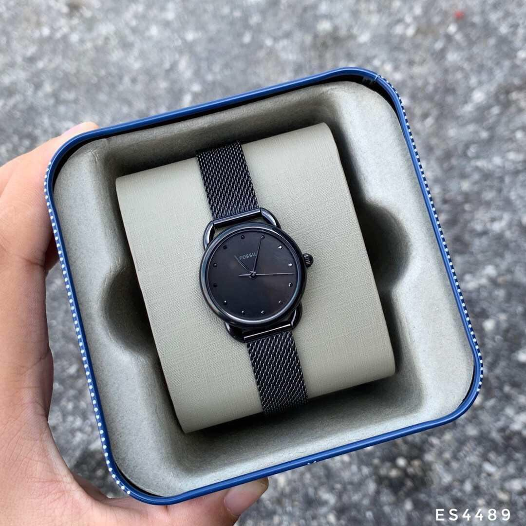 ffff7cff14c Fossil Tailor Three-Hand Stainless Steel ES4489 Watch, Women's Fashion,  Watches on Carousell