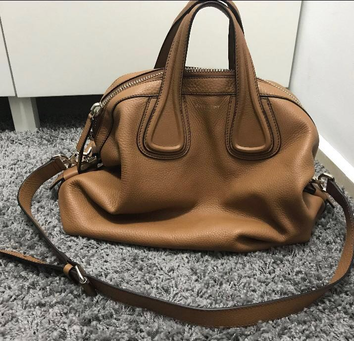 8be871d2b6 Givenchy nightingale medium in camel, Luxury, Bags & Wallets, Handbags on  Carousell