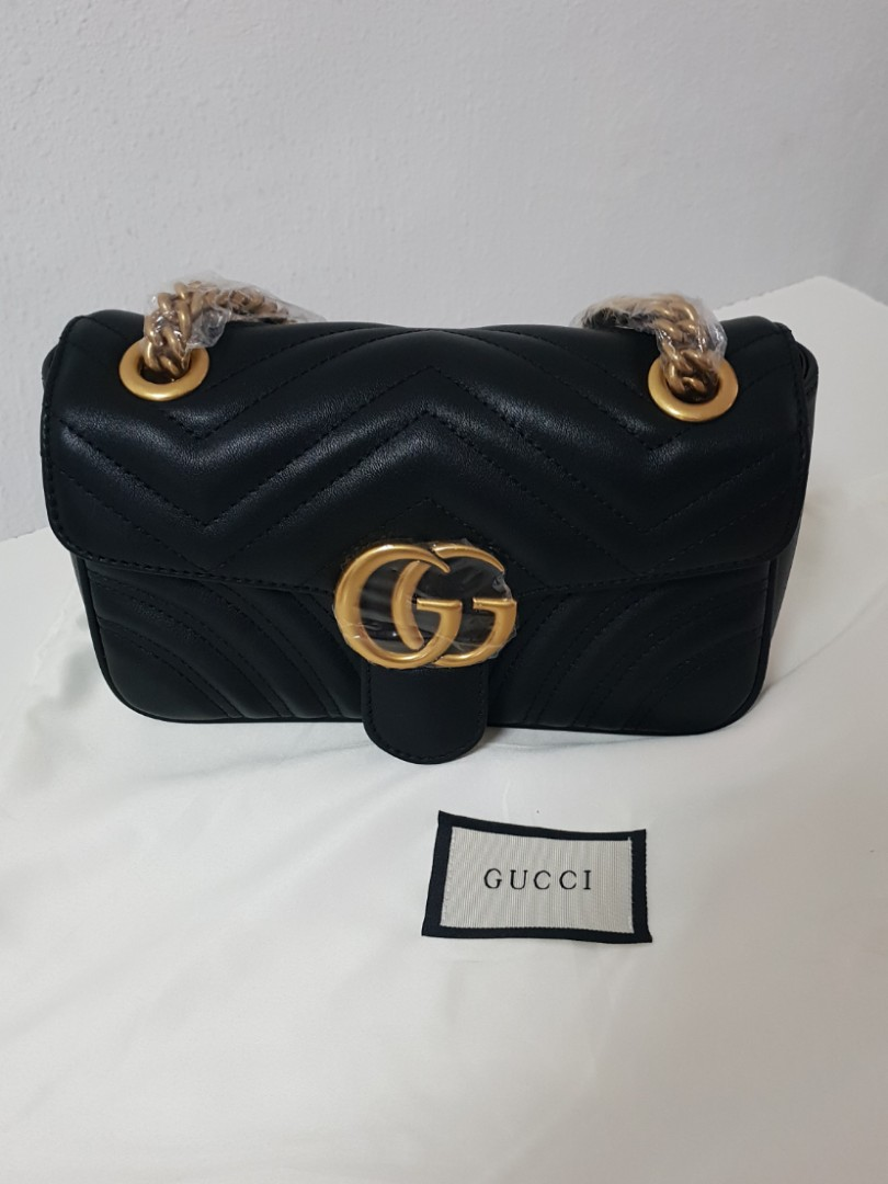 d8b29a352734 Gucci Marmont Flap Mini, Luxury, Bags & Wallets, Handbags on Carousell