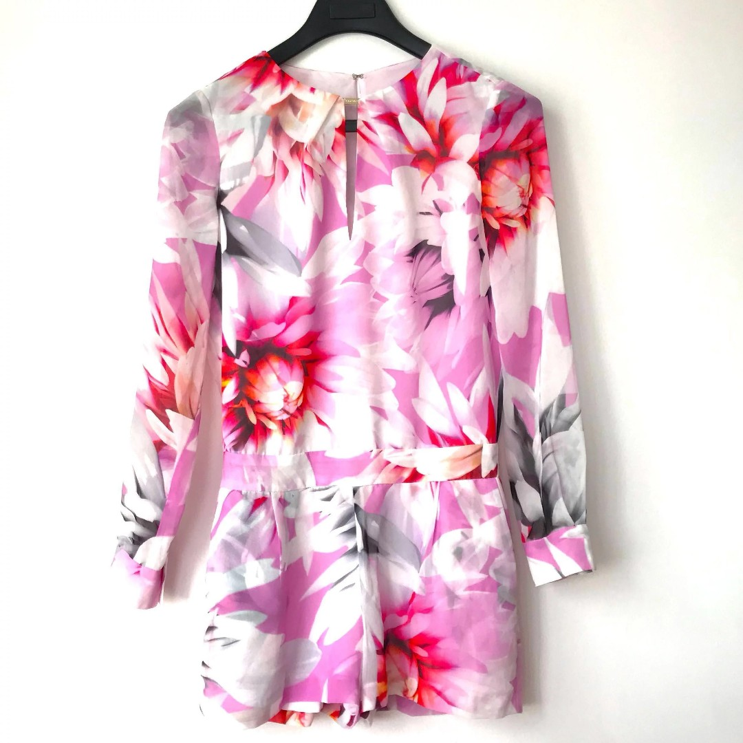 f0968d5ea9 🌸GUESS BY MARCIANO FLORAL Jumpsuit 🌸 CNY