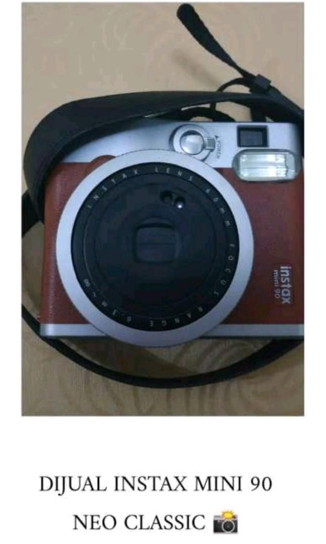 Jual Polaroid Fujifilm Instax Mini 90 Neo Classic Photography On