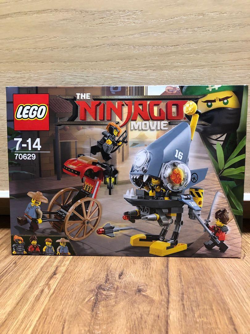 Lego 70629 The Ninjago Movie Piranha Attack