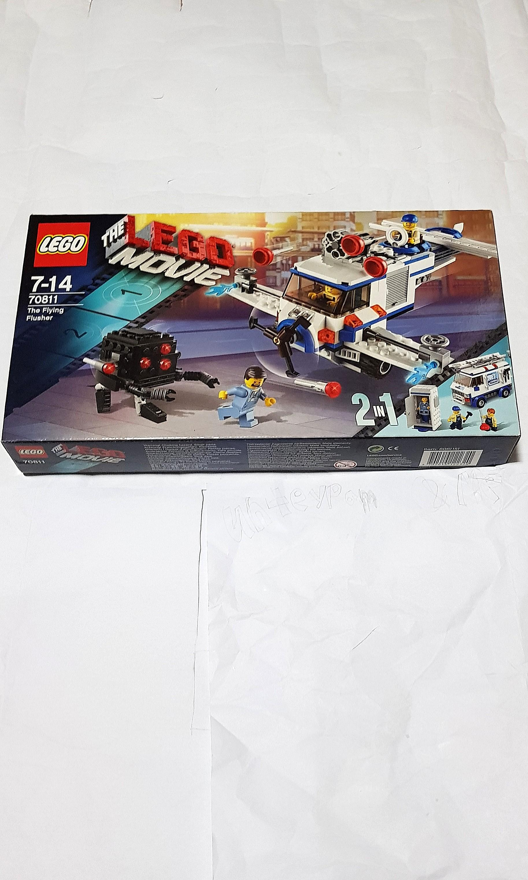 Lego The Lego Movie 70811 The Flying Flusher NEW and SEALED