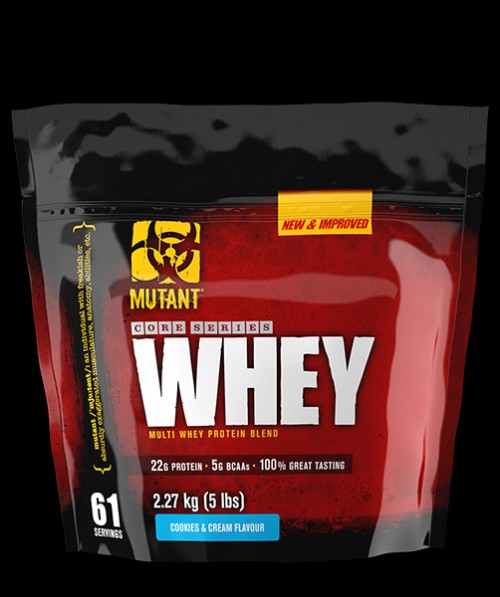 Mutant Whey Protein New and Improved Triple Chocolate, Food & Drinks on Carousell