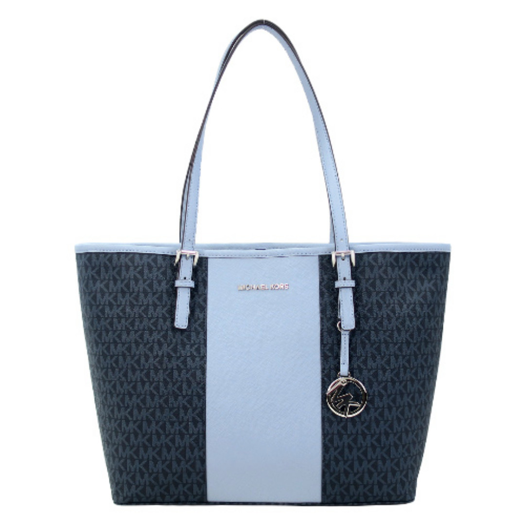 bdca71f15bf6 NEW ARRIVAL Michael Kors Jet Set Travel Carryall Medium Tote Bag in ...