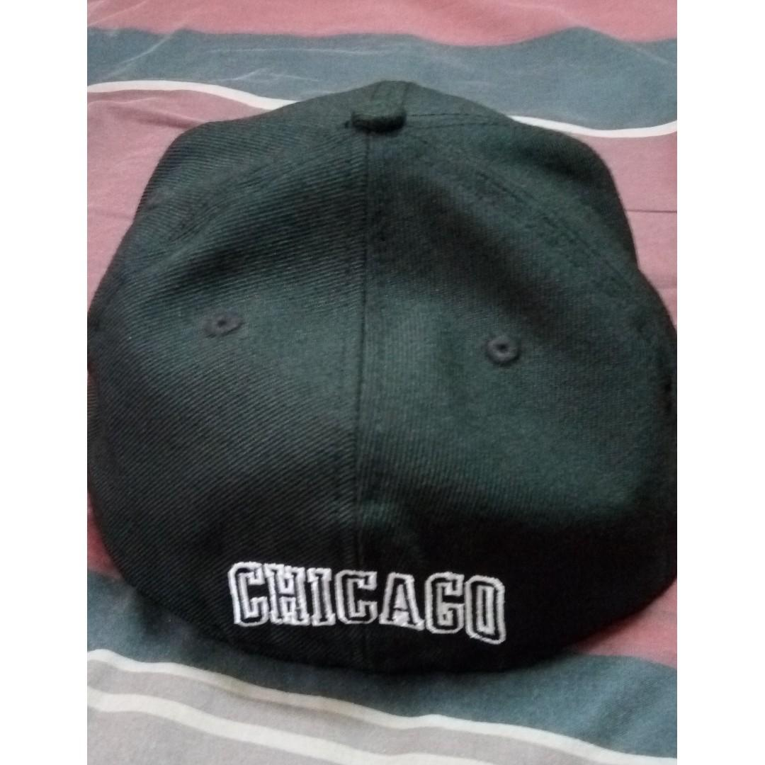 New Era Chicago Bulls Fitted Cap Size 7-1/2
