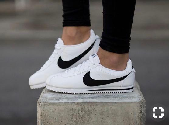 info for 1c6c0 09962 Nike Cortez Trainers White Leather, Women's Fashion, Shoes ...