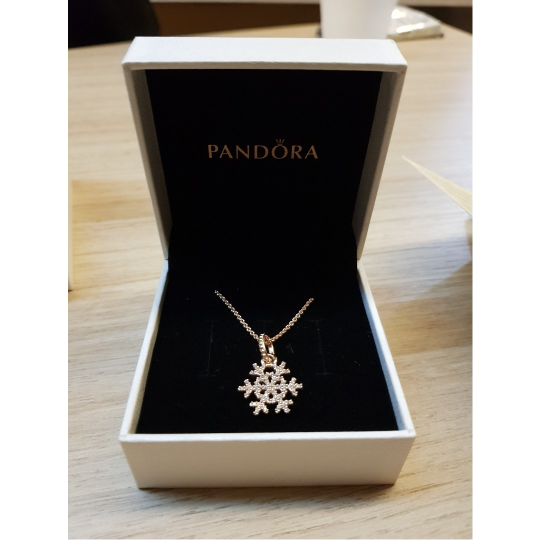 bf33db471a9fa Pandora Snowflake Necklace And Earrings - The Best Produck Of Earring