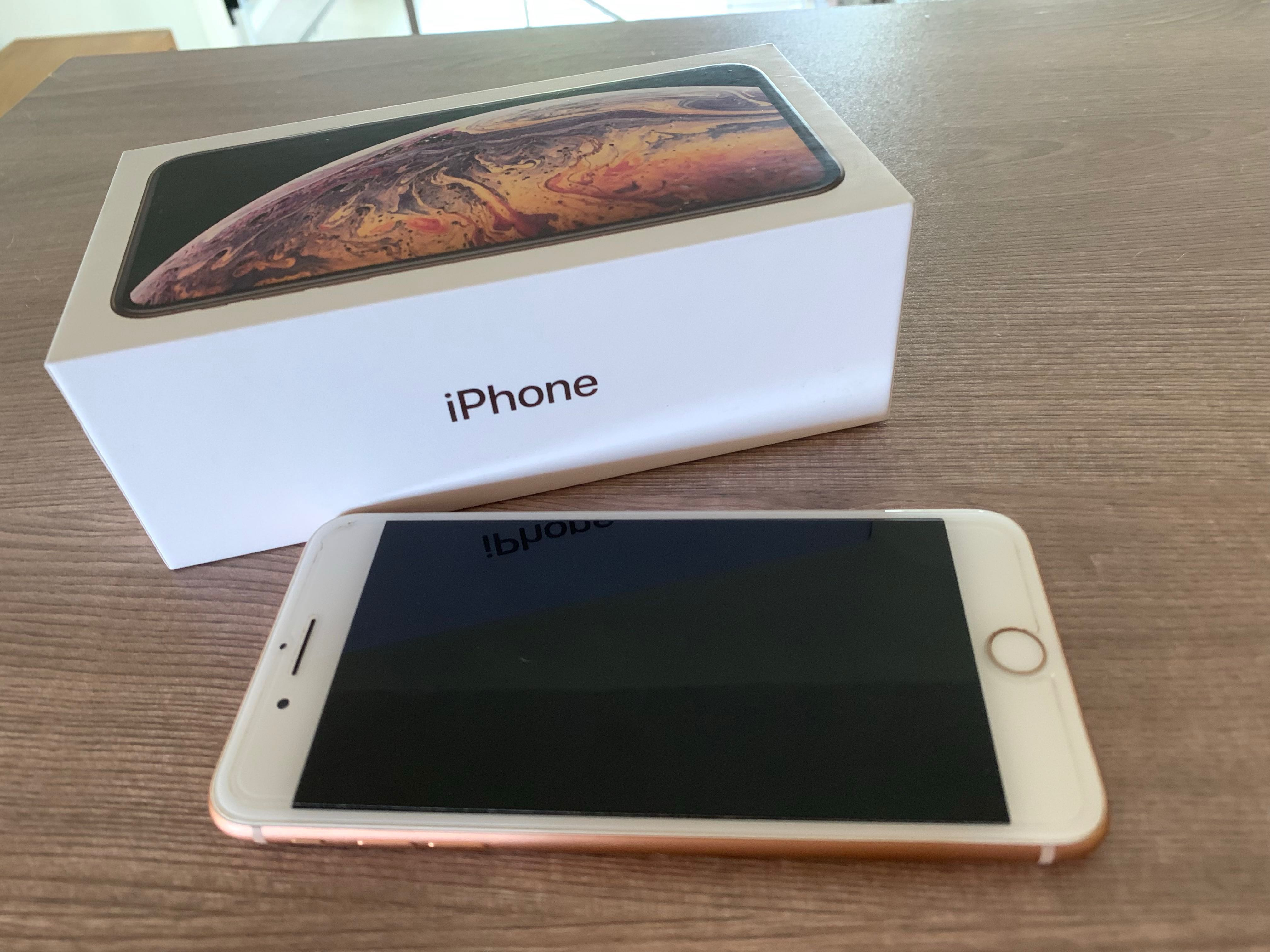 134b411a9e PERFECT condition iphone 8 Plus rose gold